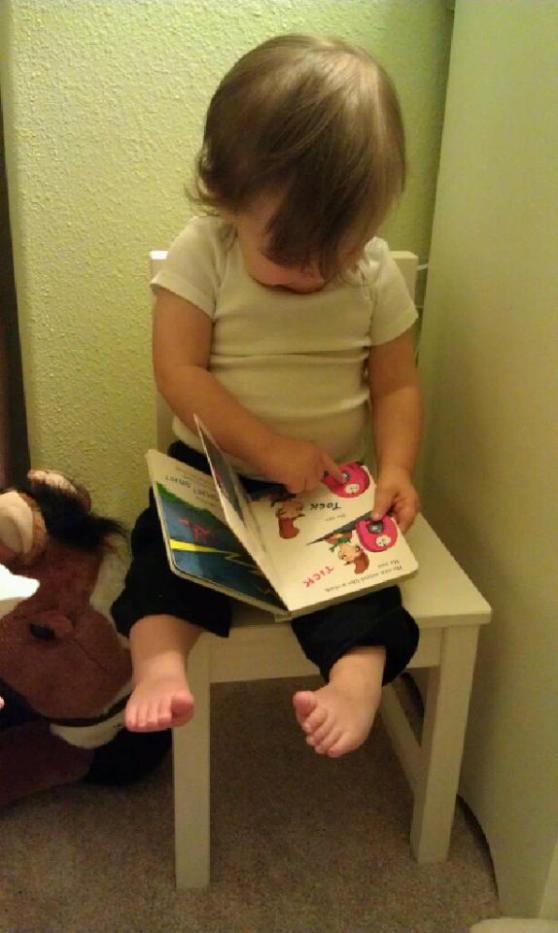 Natalie-reading