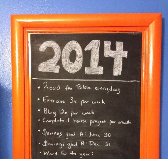 2014 Resolutions