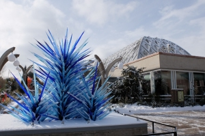 Chihuly at the Denver Botanic Gardens